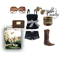 Shes Country, created by remingtonj on Polyvore