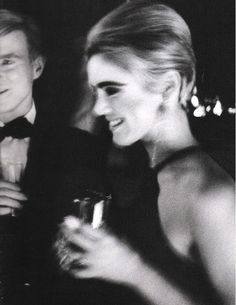 "theswinginsixties: "" Andy Warhol and Edie Sedgwick, 1966. "" #LILICLASPE"