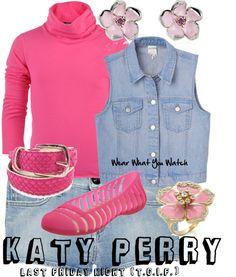 Inspired by one of Katy Perry's outfits in the 2011 music video for Last Friday Night.