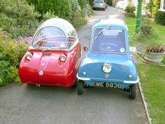 Peel Microcars...too cute!