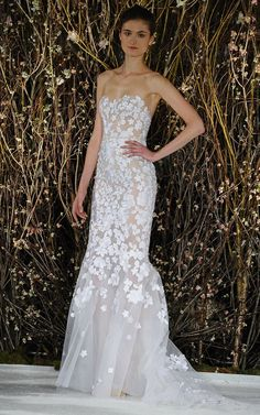 M'O Bridal & Wedding: The Riley Gown from Mira Zwillinger Bridal SS17 trunkshow