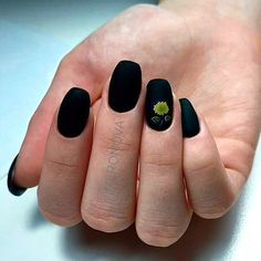 Matte Black Short Coffin Nails ❤ 30+ Outstanding Short Coffin Nails Design Ideas For All Tastes ❤ See more ideas on our blog!! #naildesignsjournal #nails #nailart #naildesigns #coffins #coffinnails #shortcoffinnails #coffinnailshapes
