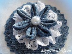 цветы из джинсовой ткани своими руками - Поиск в Google