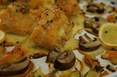 Baked Salmon Rolls - Scandinavian Recipe