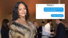 Rihanna DMs a Fan Breakup Advice on Twitter, Brings the Whole Internet to Tears