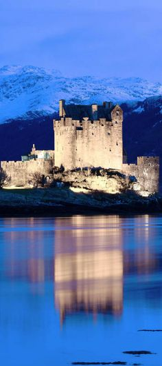 Eilean Donan Castle! Travel to Scotland and see 28 Mind Blowing photos of this beautiful country!  Scottish Highlands   Edinburgh   Glasgow   Castles   Isle of Skye