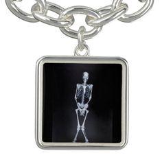 cute skeleton charm