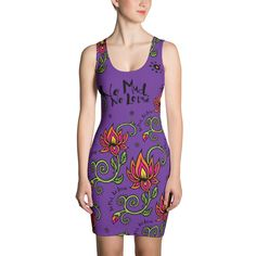 No Mud. No Lotus. Purple Dress