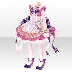 ディア プリンス|@games -アットゲームズ- Fashion Line, Fashion Art, Girl Fashion, Fashion Design, Anime Outfits, Girl Outfits, Cute Outfits, Person Drawing, Cute Games