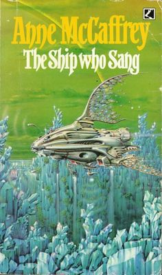 This is the copy I love. Classic science fiction novel from the late Anne McCaffrey Fantasy Book Covers, Fantasy Books, Sci Fi Fantasy, Classic Sci Fi, Classic Books, Science Fiction Books, Pulp Fiction, Fiction Novels, Good Books