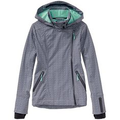 5ebeeb6db40 Athleta  Printed Sun Valley Ski Jacket - The wind- and water-resistant  hooded