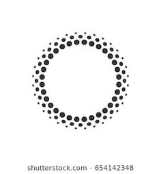 Icons Discover Abstract Circular Halftone Dots Form Vector Stock Vector (Royalty Free) 654142348 Abstract circular halftone dots form. Vector illustration. Circle Logo Design, Circle Logos, Logo Design Inspiration, Icon Design, Dot Logo, Magic Tattoo, Cloud Drawing, Dot Art Painting, Photoshop Design