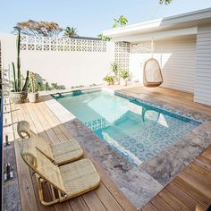 Things To Be Consider For Asking Swimming Pool Service Service is very crucial in our life, likewise a pool. Now, we are going to give you the swimming pool service that you can choose based on your pool needed. Small Swimming Pools, Small Pools, Swimming Pools Backyard, Swimming Pool Designs, Lap Pools, Indoor Pools, Pool Decks, Small Backyard Pools, Backyard Pool Landscaping
