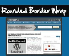 Do you want to renovate your Blogger Template by adding a Cool CSS3 Round Border to it?...Read More...http://www.mybloggerlab.com/2012/11/add-css3-rounded-border-wrap-to-blogger.html