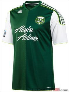 adidas Portland Timbers Home Jersey 2012...$71.99
