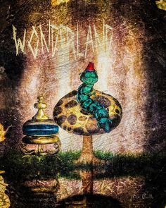 Wonderland - Original fine art fantasy by Bob Orsillo.  Copyright (c)Bob Orsillo / http://orsillo.com - All Rights Reserved.