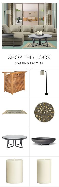 """ENJOYING THE WEEKEND"" by arjanadesign ❤ liked on Polyvore featuring interior, interiors, interior design, home, home decor, interior decorating, Threshold, Karastan, WALL and Grandin Road"