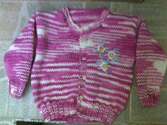 Tricotando carinho: Casaquinho Ingrid