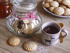 VTIPNÉ ZÁZVOROVÉ SUŠENKY Sweet Recipes, Goodies, Pudding, Jar, Mugs, Tableware, Desserts, Food, Advent