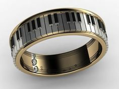 piano musical note ring — Products Gadgets #Gadgets
