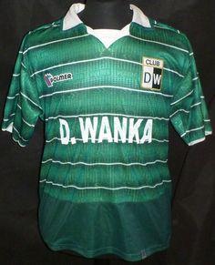 Polmer Deportivo Wanka Home Shirt 04-05 Medium