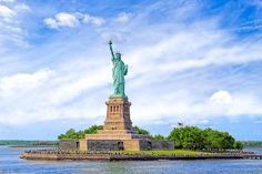 Liberty Enlightening The World - New York City by Mark E Tisdale - Patriotic Statue of Liberty Landscape Print