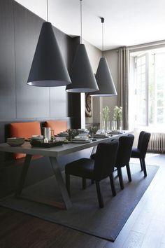 Des suspensions déco pour une table conviviale : 15 photos à voir - CôtéMaison.fr