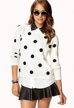 totally flirty sweater. Great with jeans too.