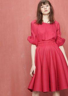 Technical knit skirt - Skirts - Maje.com