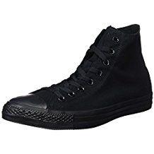 Converse Ctas Mono Hi 015470 610 8 Unisex Trainers Converse Chuck Taylor High, Converse High, All Star, All Black Sneakers, High Top Sneakers, Unisex, Chuck Taylors High Top, Partner, High Tops