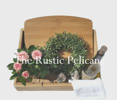 RusKitchen Decor Reclaimed Wood Planter Rustic by RusticPelican