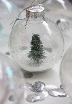 小さな小さな雪の世界♡糊と空き瓶で出来るロマンチックな『スノードーム』の作り方*にて紹介している画像