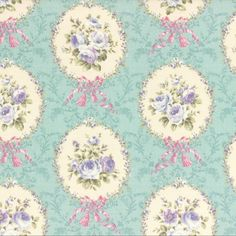 Rococo, Sweet, Cameo, Seamist, Floral