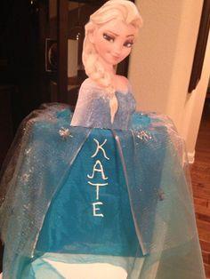 Valentine School Box- Elsa from Frozen