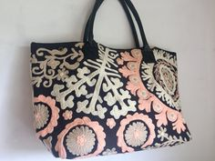 Suzani Handbag - Sonata Rose