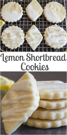 cut out cookies Shortbread Cookies are a must and these Lemon Shortbread are the perfect Lemon Lovers melt in your mouth Cookie. The perfect cut out or slice and bake cookies. Lemon Shortbread Cookies, Lemon Sugar Cookies, Shortbread Recipes, Tea Cookies, Sugar Cookies Recipe, Cookies Et Biscuits, Lemon Biscuits, Lemon Dessert Recipes, Almond Recipes