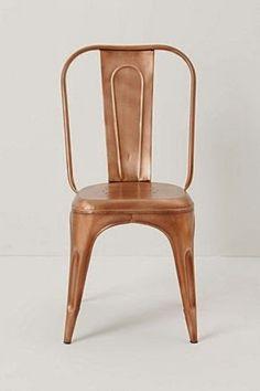 cadeira bronze