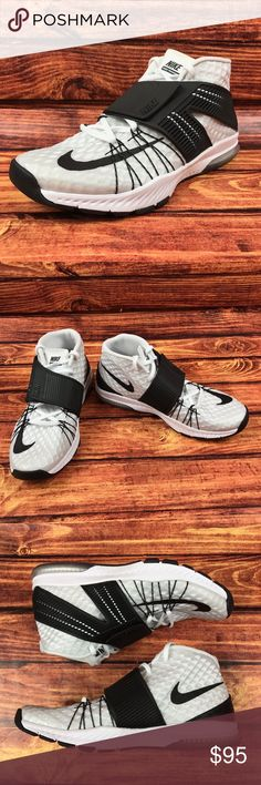 Nike Zoom Train TORANADA Training Sneaker Shoes NEW Nike Mens Zoom Train TORANADA Training Sneaker Shoes White/Black 835657-100  New without box and unworn. Excellent condition. Size - 9.5 (US) / 8.5 (UK) / 43 (EU) Color - White / Black Style - Athletic Sneakers / Training Width - Medium (D, M) Nike Shoes Athletic Shoes