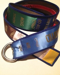 Custom Show Ribbon Belt