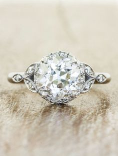 Rachael: Oval Diamond Rose Gold Engagement Ring | Ken & Dana Design