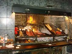 , parrilla: Typical Uruguayan grill (BBQ)