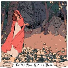 Jocelyn & Luke, Little Red Riding Hood - Pairing shadowhunters with classic fairy tales