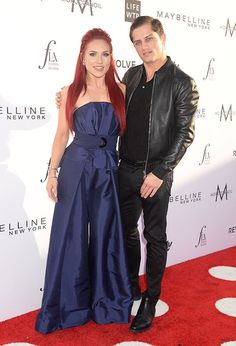 Sharna Burgess & Bonner Bolton Cozy Up On The Red Carpet: Was It A Date Night? — Pics