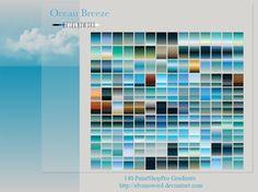 Ocean Breeze Psp Gradients by ElvenSword
