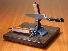 Wicked Edge knife sharpening system