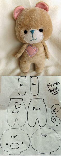 DIY Sweetie Bear