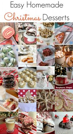 Easy Homemade Christmas Desserts - The Grant Life