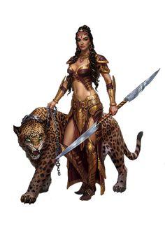 Female Tribal Warrior/scavenger