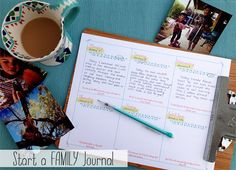 start a famliy journal by life made lovely, via Flickr