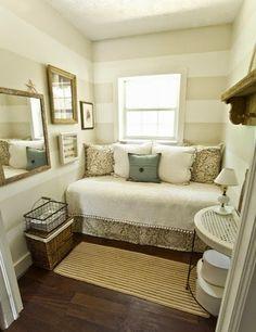 Ideas para dormitorios pequeños | Decorar tu casa es facilisimo.com